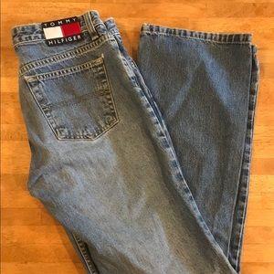 Vintage Tommy Hilfiger Jeans Sz 7 hipster flare
